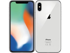 APPLE - iPhone X 64GB Silver - repase A+