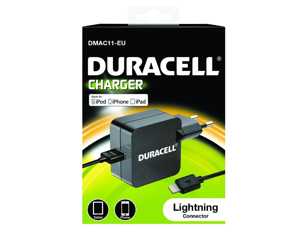 AC adaptér Duracell Apple iPhone 5/5s - 5v 2.4A - 12W